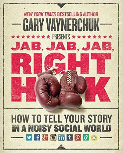 Jab Jab Jab Right Hook, best creative business books