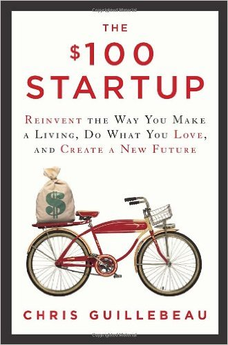 $100 Startup, best creative business books