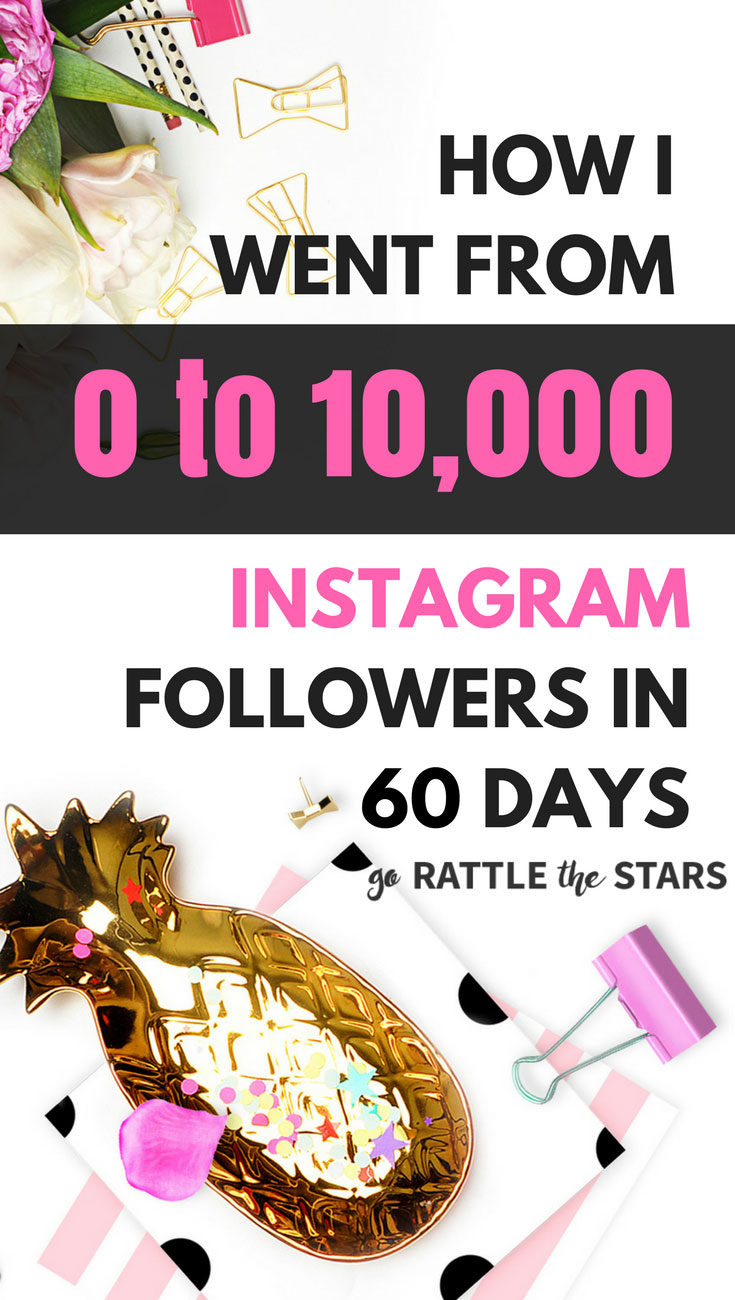 Case Study: How to Get 10K Followers on Instagram - Go