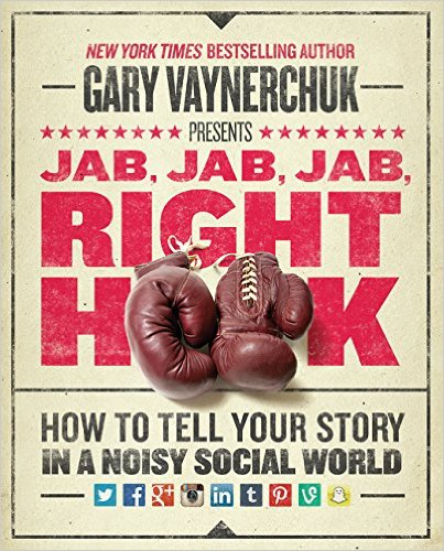 Jab Jab Jab Right Hook, best creative business books