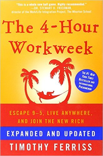 4 Hour Work Week, Tim Ferriss, best creative business books