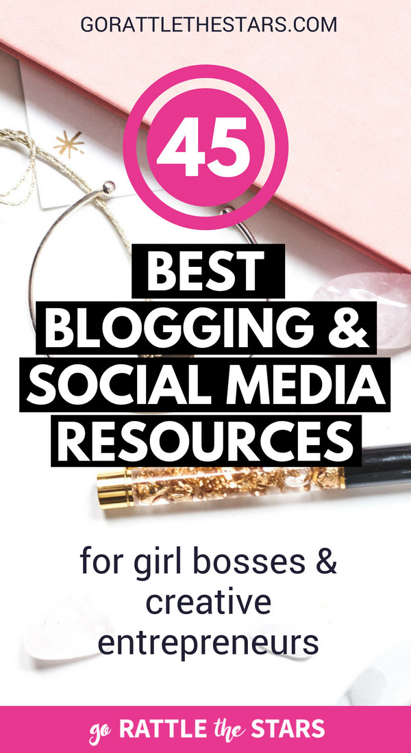 Blogging For Beginners | Make Money Blogging | Gain Instagram Followers | Resources For Bloggers | #gorattlethestars #beginnerblogger #socialmedia