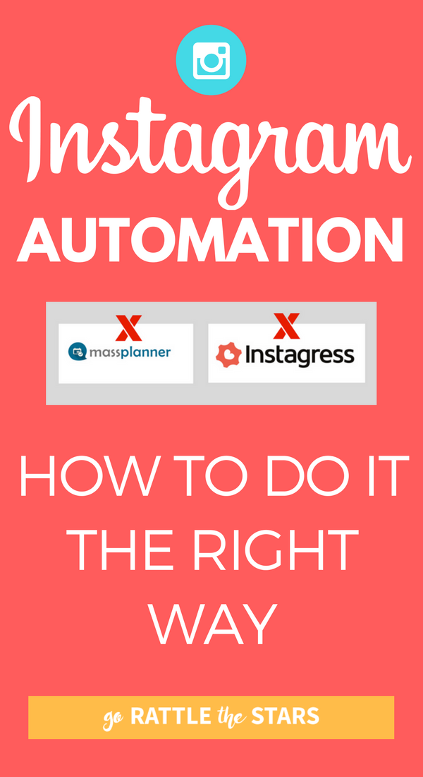 Popular Instagram Automation Services Instagress And Mass Planner Have Hit The Dust. How Do You Automate Your Instagram Strategy Now? Here's The RIGHT Way To Automate Your Instagram Strategy, To Save Time, Get More Followers, And Get More Exposure For Your Brand Or Business.