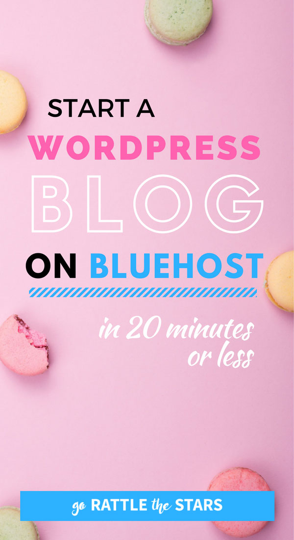 How To Start A WordPress Blog On Bluehost In 20 Minutes Flat