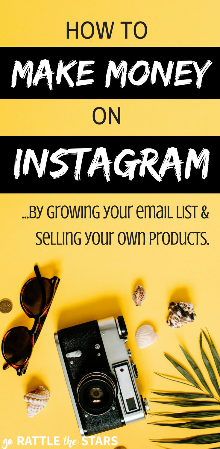 How To Make Money On Instagram For Business & Grow Your Email List