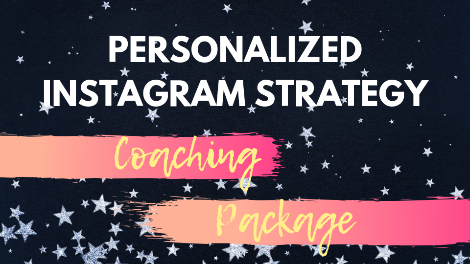 1-on-1 Instagram Coaching