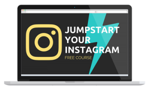 Jumpstart Your Instagram: free Instagram course to get you to 1000 followers