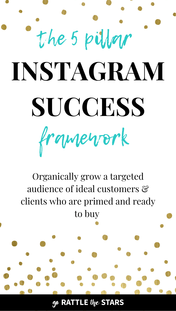The 5 Pillar Instagram Success Framework