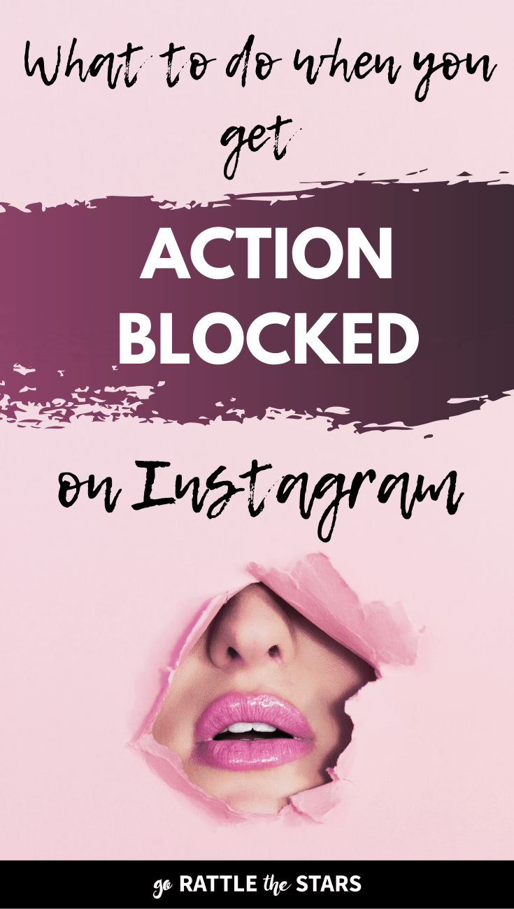 Instagram Action Blocked Banned